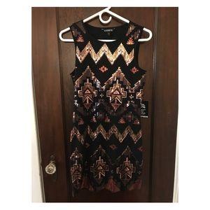 NEW Express Sequin Dress